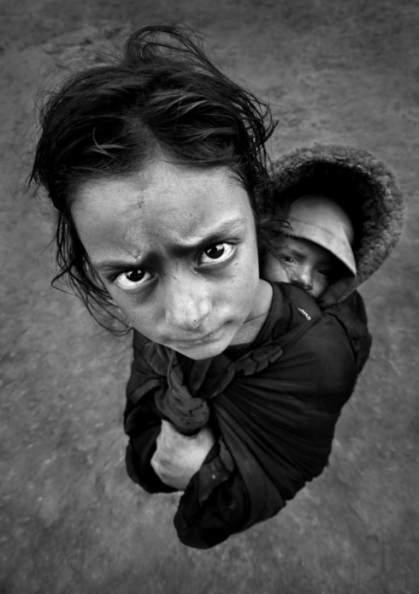 A piece of fine art art photography titled Poverty by muratersinyilik