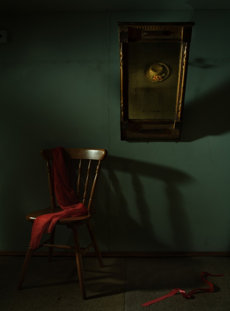 A piece of fine art art photography titled Through the Looking-Glass by Larisa Lofitskaya