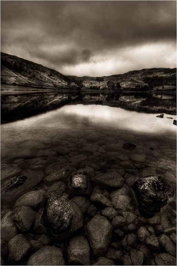 A piece of fine art art photography titled What Lies Beneath by Andrew Thatcher
