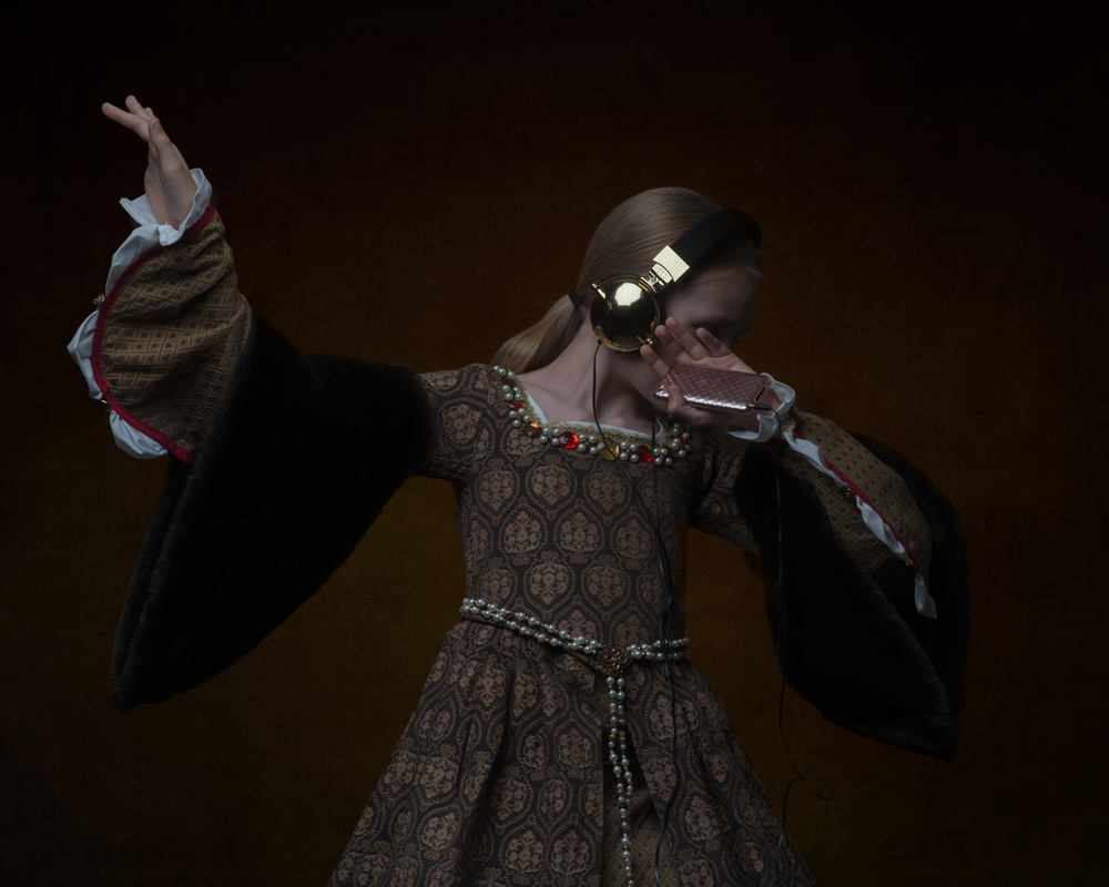 A piece of fine art art photography titled Tudor Dab by Nicole Wells