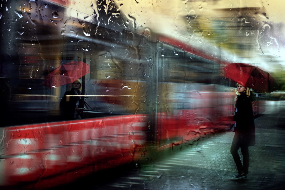 A piece of fine art art photography titled I Will Be Waiting by Charlaine Gerber