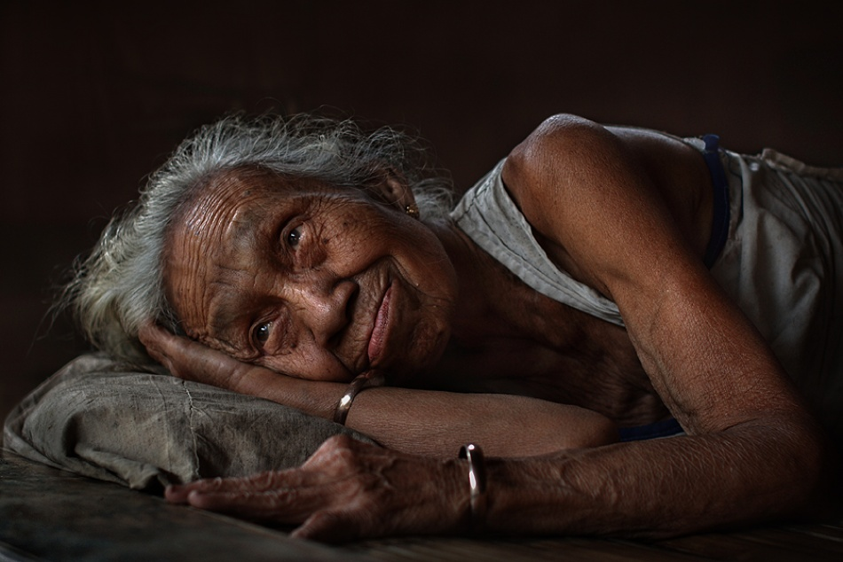 A piece of fine art art photography titled My Granny by nico fredia