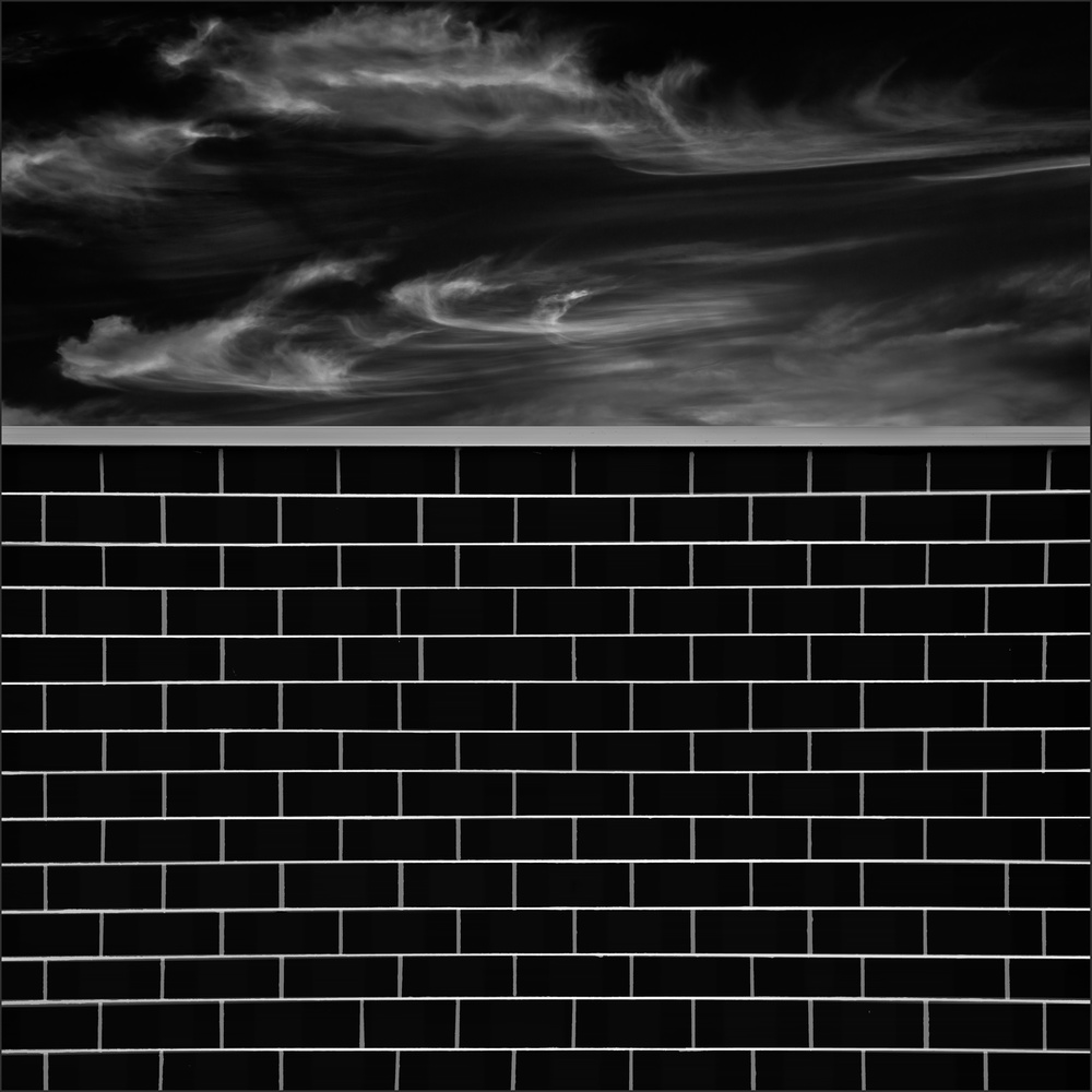 A piece of fine art art photography titled Brick Wall by Gilbert Claes