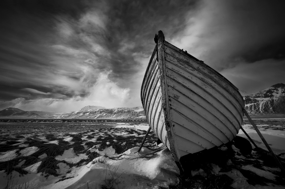 A piece of fine art art photography titled On Dry Land by Bragi Ingibergsson - BRIN