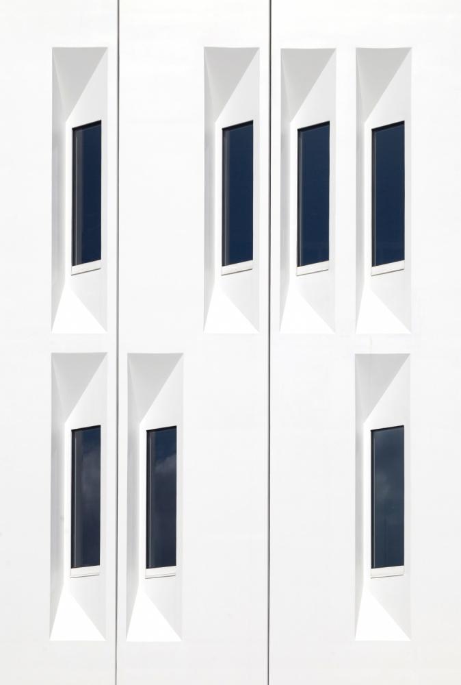 A piece of fine art art photography titled The Windows by Jeroen van de Wiel