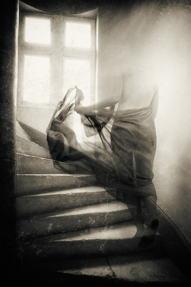 A piece of fine art art photography titled But Its Too Late Now, I've Let Her Go by Charlaine Gerber