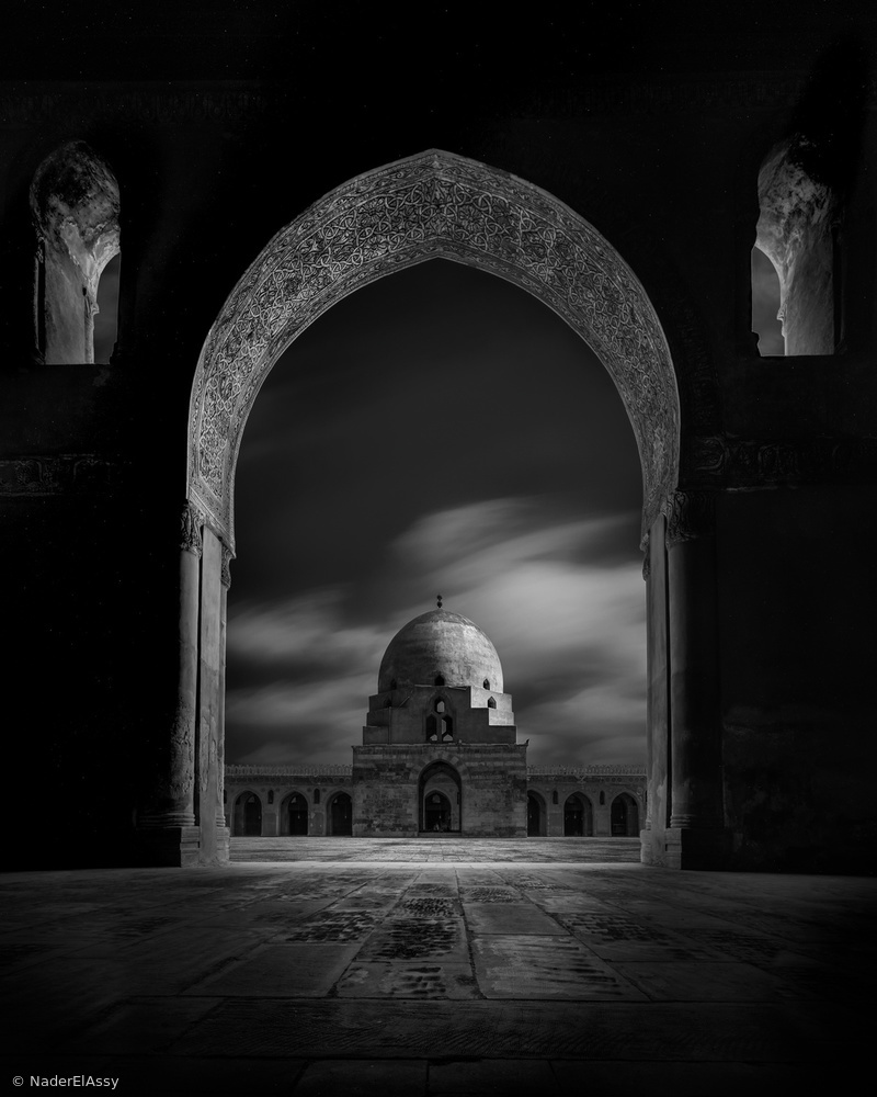 Ibn Tulun Dome Framed
