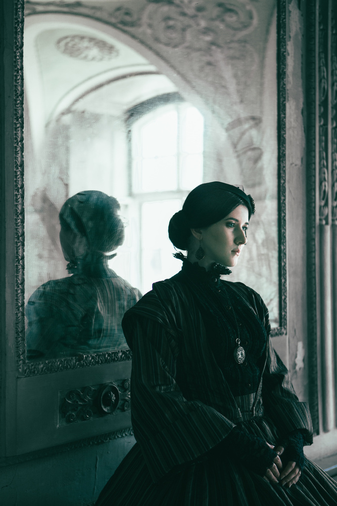 A piece of fine art art photography titled Sylwia by Magdalena Russocka