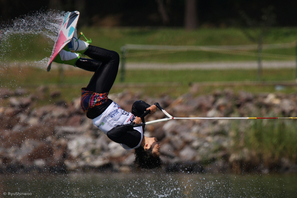 View this piece of fine art photography titled Waterski by Massimo Alloi
