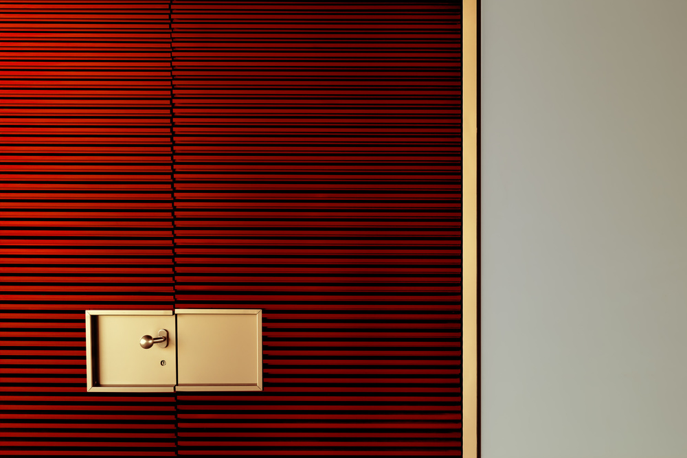 A piece of fine art art photography titled Luxury Red by Marc Huybrighs