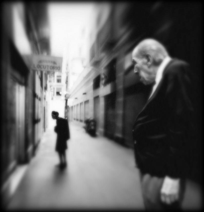 A piece of fine art art photography titled The Couple by Sylvie Bendel