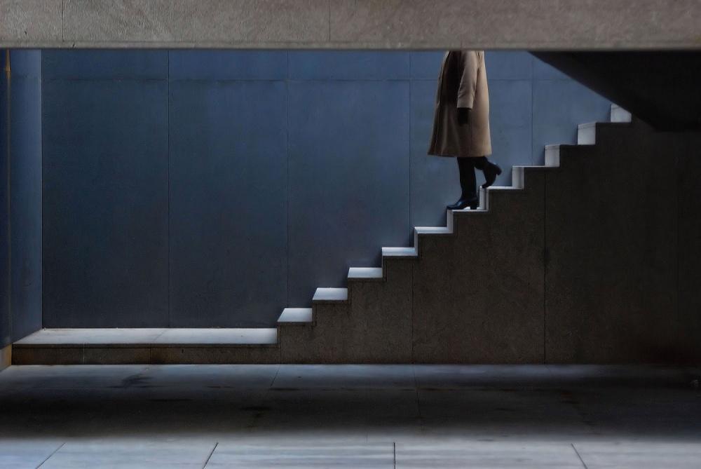 A piece of fine art art photography titled Way Down Body by Luis Câmara