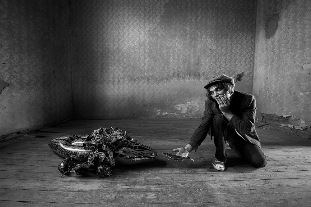 A piece of fine art art photography titled Give Me Back My Baby by mario grobenski - psychodaddy