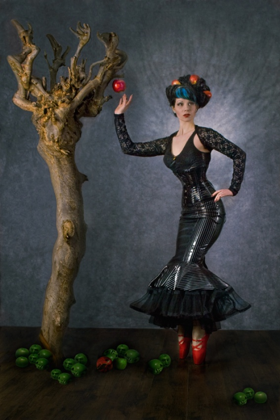 A piece of fine art art photography titled  Apple Tree by Peter Kemp