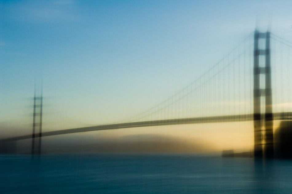 A piece of fine art art photography titled Golden Gate by Jerry Berry