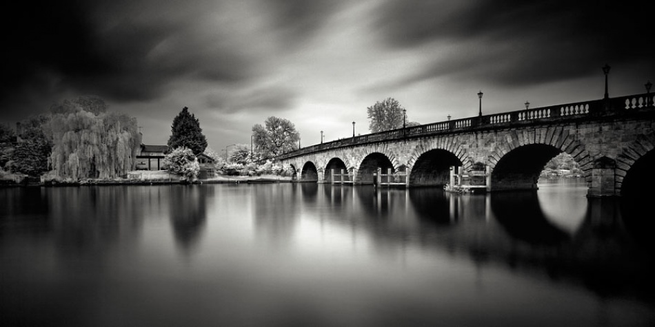 A piece of fine art art photography titled Maidenhead Bridge by Marcin Stawiarz