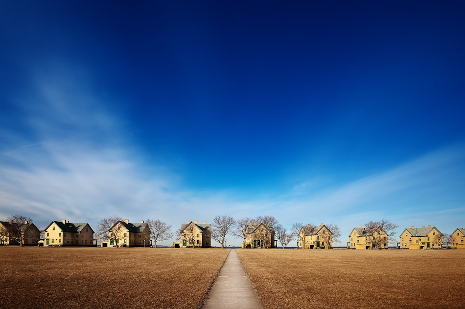 A piece of fine art art photography titled A Family of Houses by SherwinJames