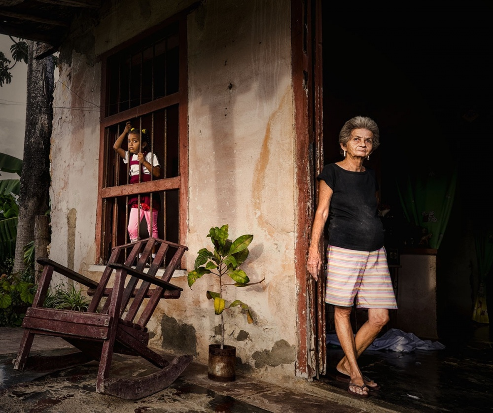 A piece of fine art art photography titled Cuba 2014 by Orna Naor
