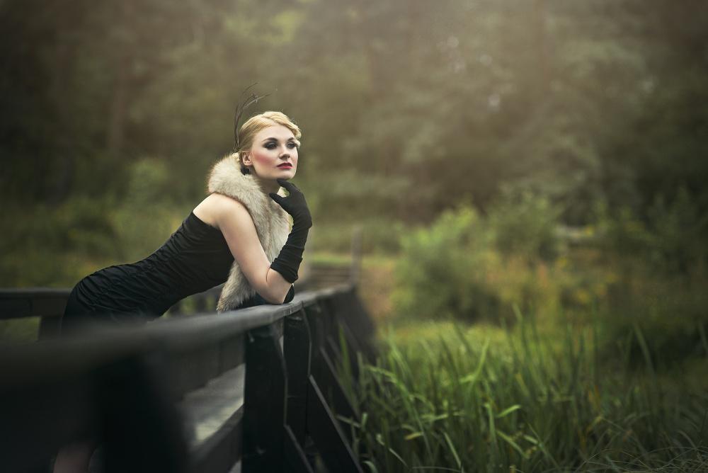 A piece of fine art art photography titled Anna by Justyna Garczyk- Kleszcz