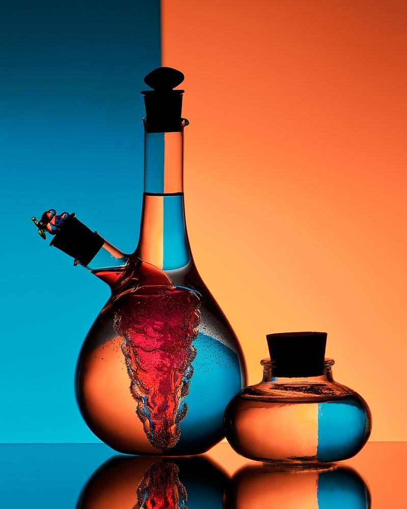 A piece of fine art art photography titled Oil and Vinegar by Aida Ianeva