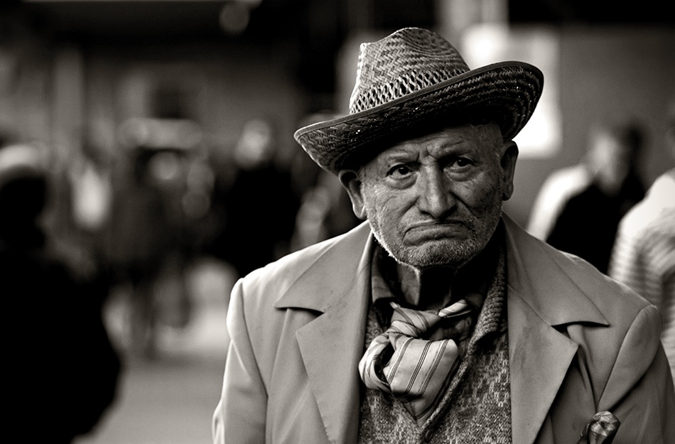 A piece of fine art art photography titled Lost In Town by Claudio Solera