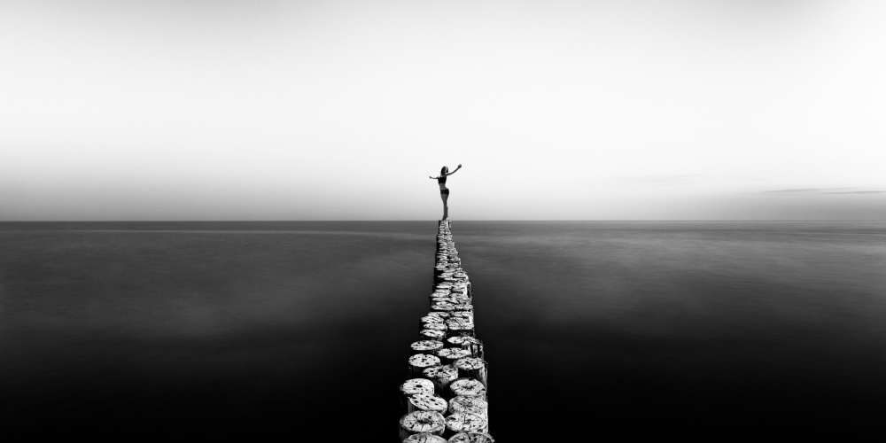 A piece of fine art art photography titled Aequilibrium by Patrick Odorizzi