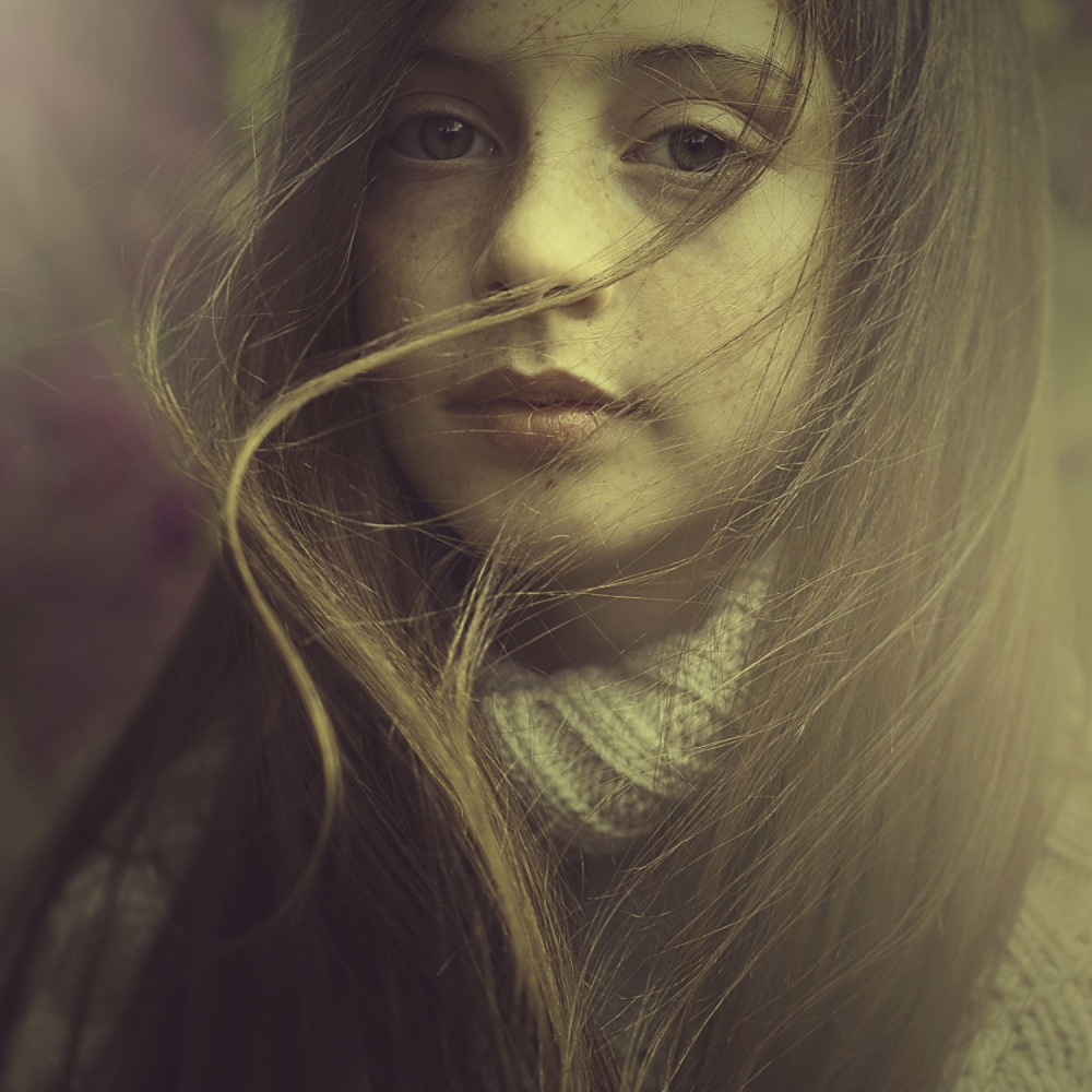 A piece of fine art art photography titled Seren by Ela Frączkowska