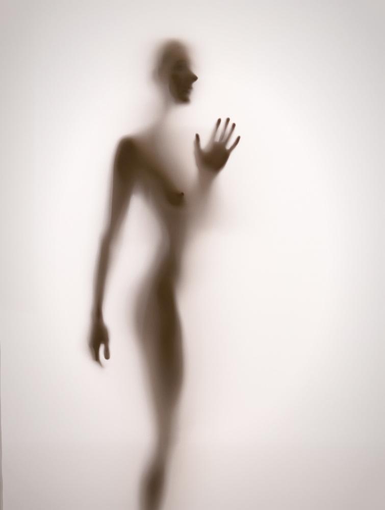 A piece of fine art art photography titled Touch by Gabriela Slegrova