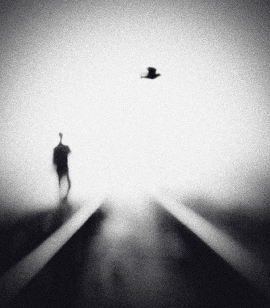A piece of fine art art photography titled Nocturne by Hengki Lee