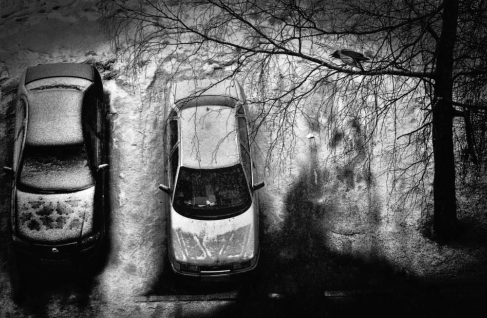 A piece of fine art art photography titled Automobile Dreams by Vladimir Konkin