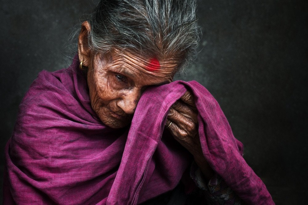 A piece of fine art art photography titled Tears by Mohammed Baqer