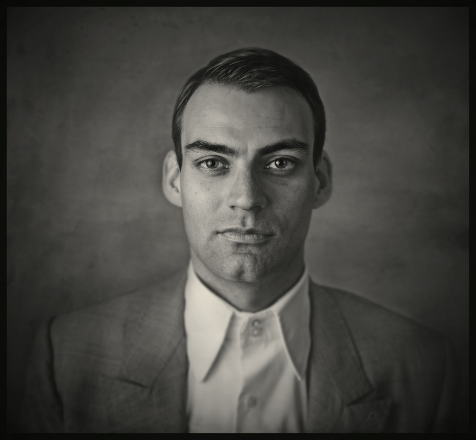A piece of fine art art photography titled Just a Portrait by Raphael Guarino