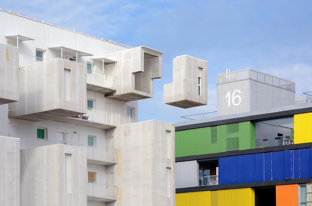 A piece of fine art art photography titled Tetris by Juan de Villalba