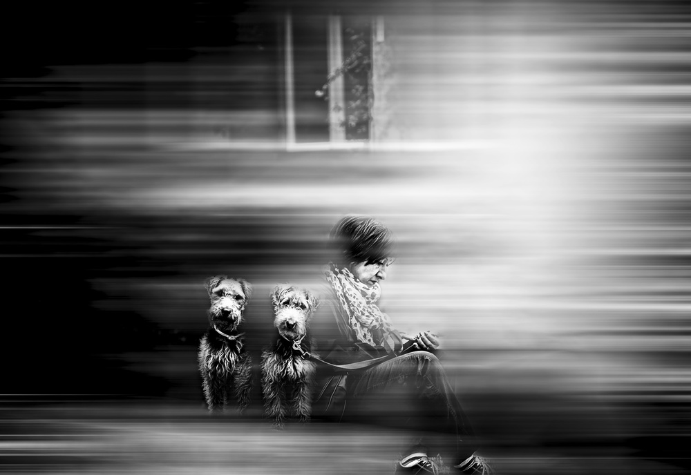 A piece of fine art art photography titled The Brothers by Carmine Chiriacò