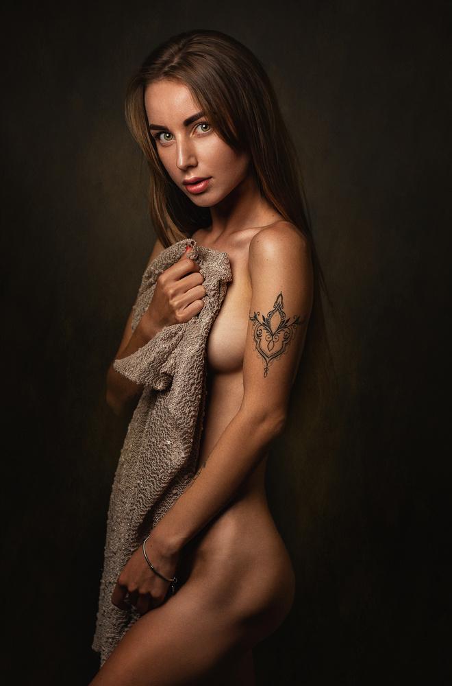 A piece of fine art art photography titled Vika by Zachar Rise