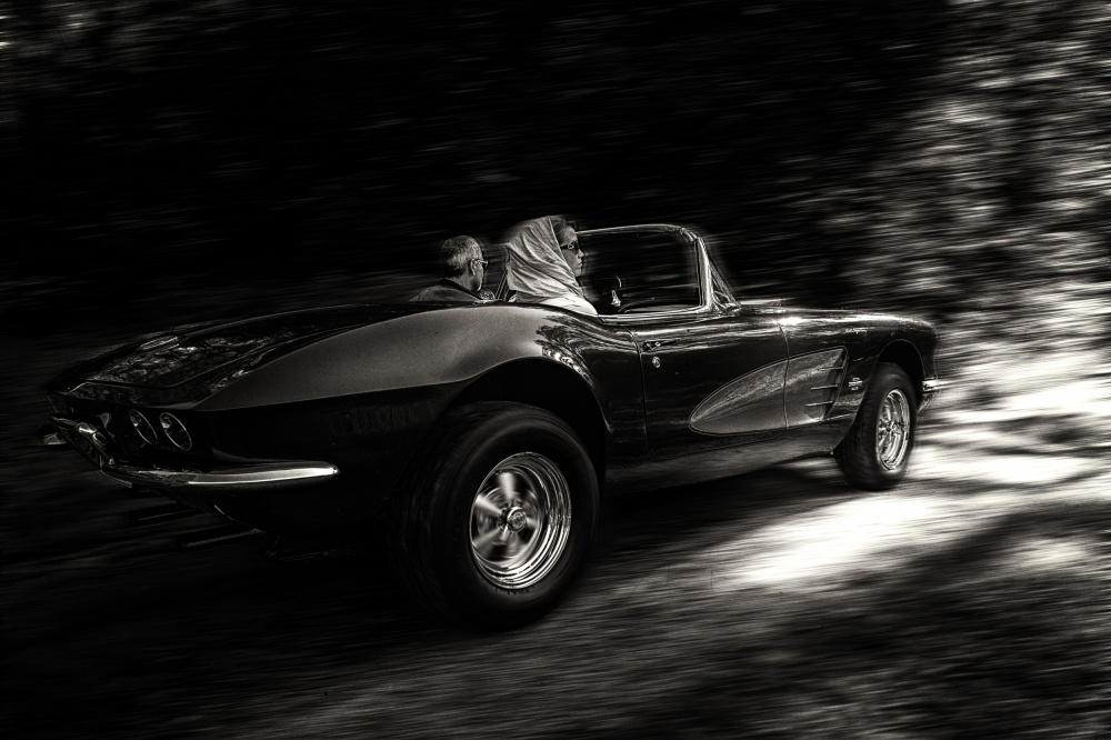 A piece of fine art art photography titled The Getaway by Kim Scianghetti