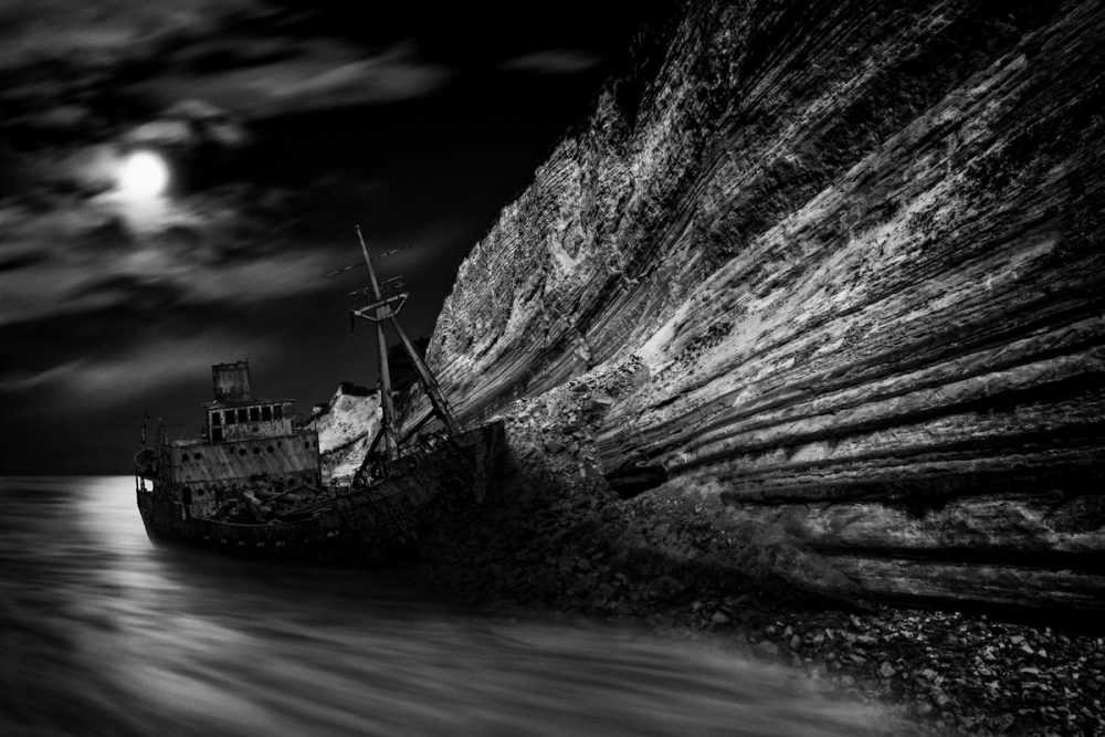 A piece of fine art art photography titled Stranded by darko ivancevic