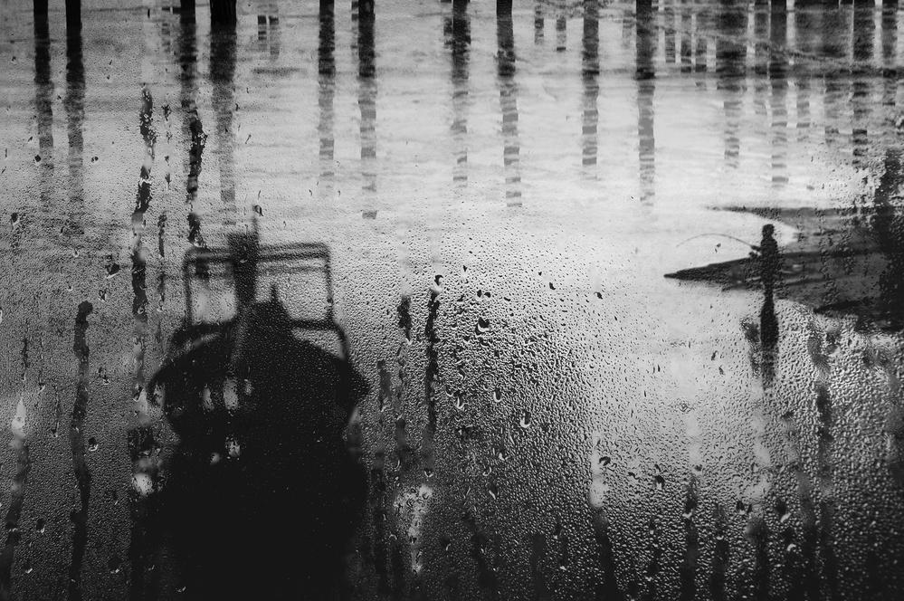 A piece of fine art art photography titled Salty Rain by Ekkachai Khemkum