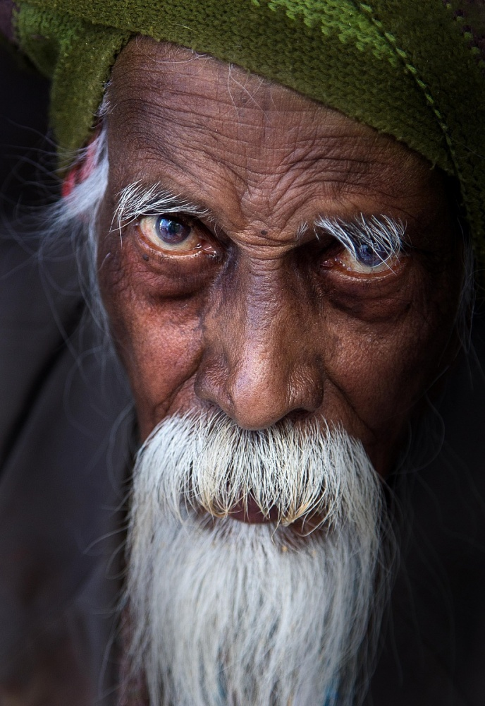 A piece of fine art art photography titled Man by Alessandro Bergamini