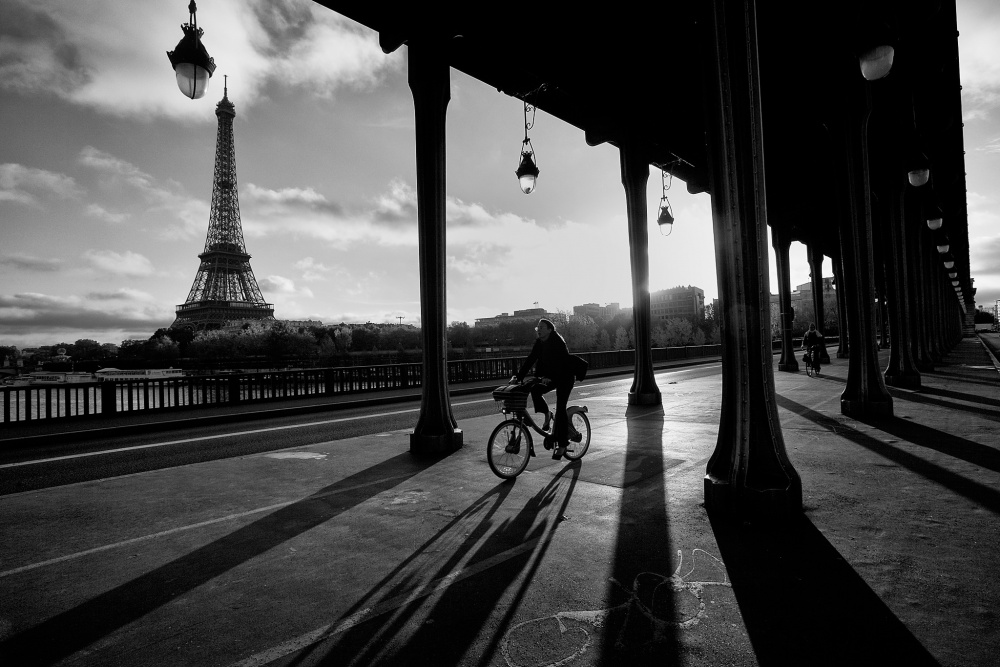A piece of fine art art photography titled Just Another Morning In Paris by Kah Kit Yoong