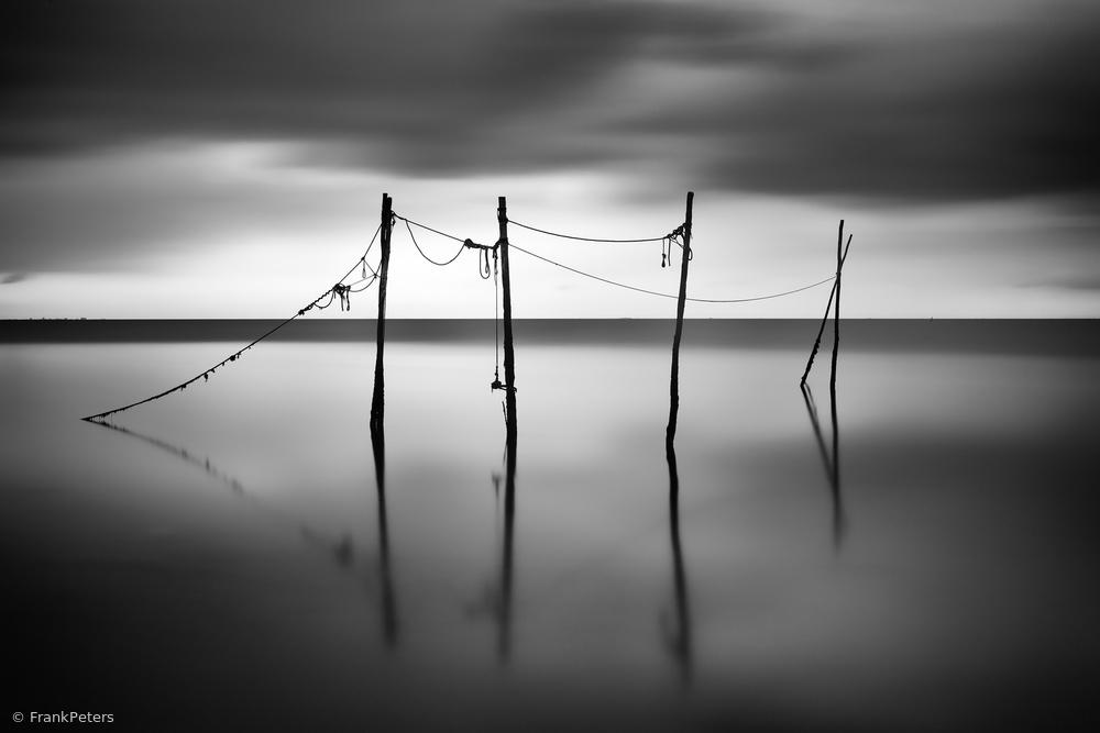 Poles, Afsluitdijk, Netherlands