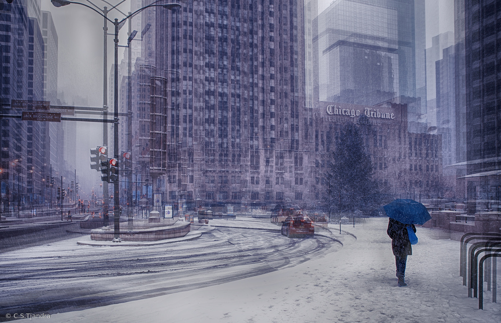 Snow in Chicago