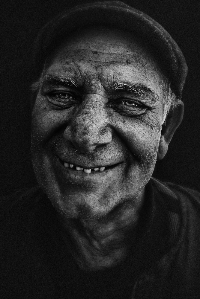 A piece of fine art art photography titled Smile by Fadhel Almutaghawi