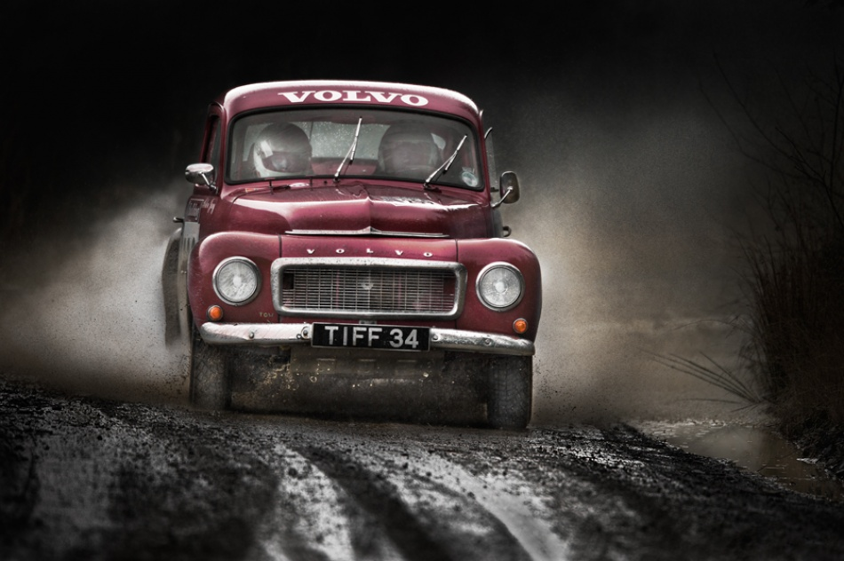 A piece of fine art art photography titled Volvo Amazon by Tony D
