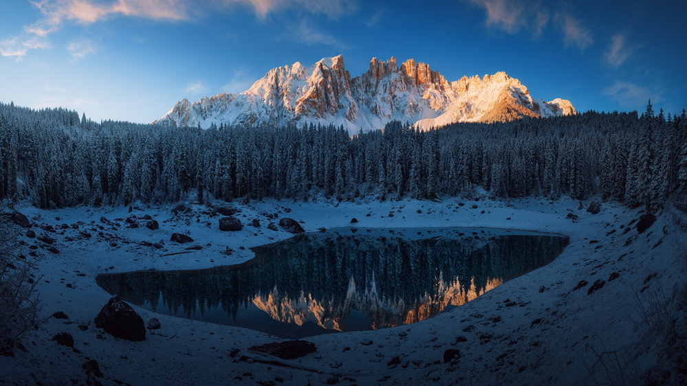 A piece of fine art art photography titled The First Morning 3 by Juan Pablo de Miguel