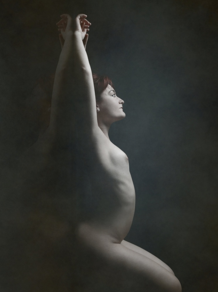 A piece of fine art art photography titled Clara by Olga Mest