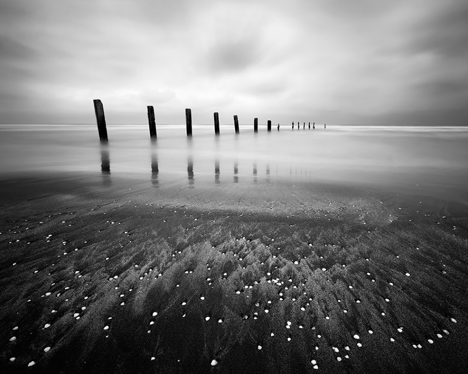 A piece of fine art art photography titled Infinity by Amir Abdolpanah