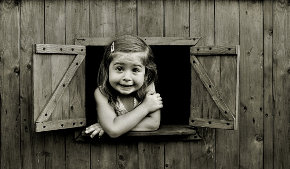 A piece of fine art art photography titled Window of Happiness by Monique
