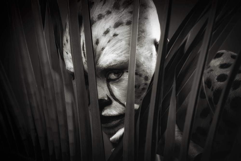 A piece of fine art art photography titled Maneater by Graham De Lacy