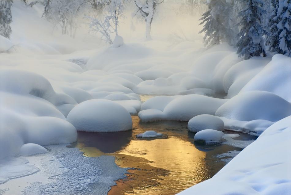 A piece of fine art art photography titled Siberia -37°C (-35°F) by Dmitry Dubikovskiy